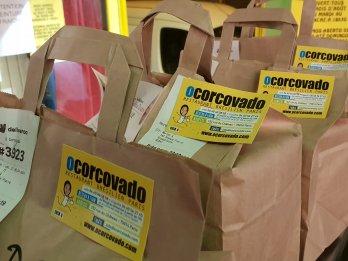 O Corcovado et Deliveroo