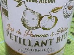 Pétillant BIO de pomme Maison Fournier